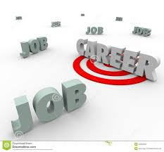 career vs job sphere cubes work opportunity growth development career word vs jobs work opportunity future path stock photography