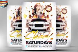 cool club flyers party flyer templates flyer psd