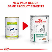 <b>Royal Canin</b> Vet Diet <b>Diabetic Special</b> Low Carbohydrate Wet Dog ...