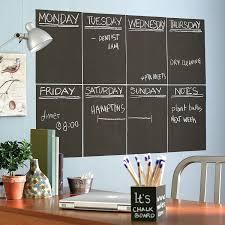 amazoncom wallies wall decals reusable slate gray chalkboard