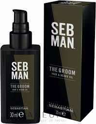 <b>Sebastian</b> Professional SEB MAN The Groom Hair & Beard <b>Oil</b> ...