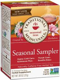 2 Pack - Traditional Medicinals <b>Seasonal Tea</b> Sampler <b>Variety Pack</b> ...