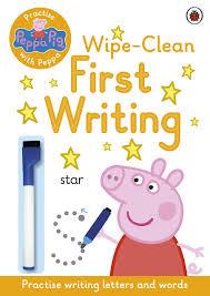 peppa pig practise peppa wipe clean writing amazon co uk peppa pig practise peppa wipe clean first writing