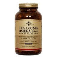 <b>Solgar EFA 1300 mg</b> Omega 3-6-9 Softgels, 60 S Gels 1300 mg ...