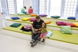 libraries custom sofa and reading areas on pinterest children library furniture