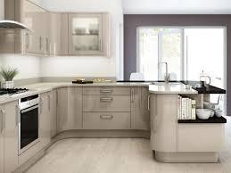 gloss acrylic anthracite german island kitchen gloss cashmere german kitchen units kitchen pinterest beige kitchen gr