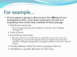 bad thesis statement weak and strong thesis statements   harry  thesis statement for friendship essay