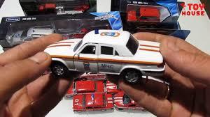Открываю много разных пожарных <b>машинок</b> моделек МЧС ...