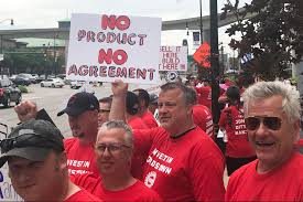 UAW overwhelmingly votes to authorize strikes at GM, Ford, Fiat ...