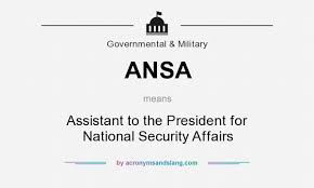 「Assistant to the President for National Security Affairs」の画像検索結果