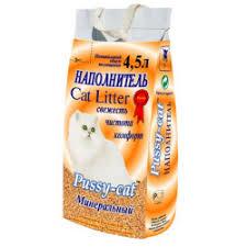 Отзывы о Наполнитель для кошачьего туалета <b>Pussy</b>-<b>cat</b> Cat ...