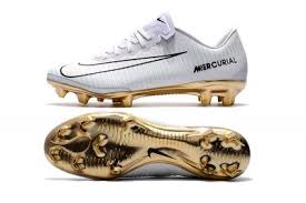 ronaldo indoor soccer shoes gold white