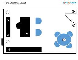 executive office layout basic feng shui office