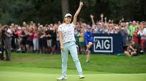 Hinako Shibuno (68) <b>wins</b> AIG Women's British Open with dramatic ...