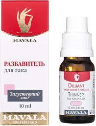 Купить <b>разбавитель лака MAVALA Thinner</b>, 10 мл, цены в Москве ...
