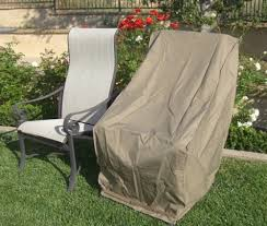 amazoncom patio hi back chair covers with velcro up to 42 h high back chair covers patio lawn garden amazing patio chairs covers