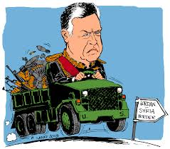 Image result for King Abdullah JORDAN CARTOON