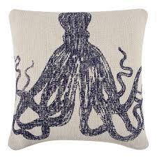 octopus sketch grain sack pillow design by thomas paul – burke decor