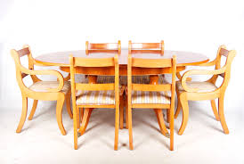 Yew Dining Room Furniture Antique Dining Table And Chairs Uk An Arts Crafts Oak Dining
