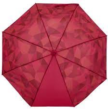 Складной <b>зонт Gems</b>, красный (артикул 17013.50) - <b>Проект 111</b>