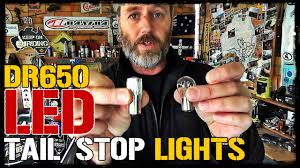 SEE COMMENTS - <b>LED Motorcycle Tail</b>/Stop Light Bulb - YouTube