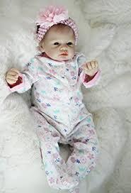 hot ocday 22 inch lifelike reborn baby dolls toy soft silicone vinyl doll kids playmate gift for girls alive bebe