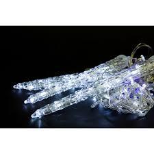 Гирлянда внешняя Glos IE Сверкающая капель <b>74</b> LED белый ...