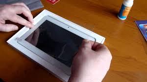 Наклеиваем <b>защитную пленку</b> на <b>экран</b> планшета - YouTube