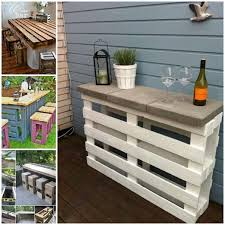 outdoor furniture from pallets view in gallery diy pallet bar table and stools2 bedroomlicious patio furniture
