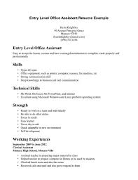 entry level medical assistant resume entry level objective resume