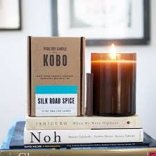 <b>SILK ROAD</b> SPICE Большая <b>свеча</b> в стекле, KOBO Candles ...