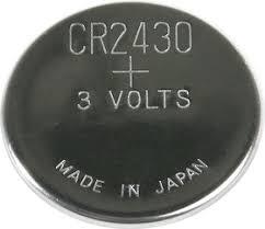 <b>CR2430</b> (DL2430), Элемент питания литиевый (1шт) 3В | купить ...