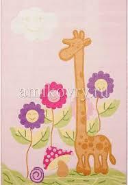 <b>Детский ковер</b> с ворсом <b>Confetti Kids</b> Giraffe-01 Pink, <b>Confetti</b> | Ами ...