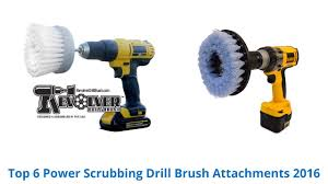 6 Best <b>Power Scrubbing Drill Brush</b> Attachments 2016 - YouTube