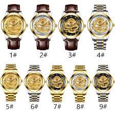 Preferred 60% OFF <b>FNGEEN</b> Men's <b>Luxury</b> Gold Dragon Watch ...