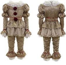 Scary Clown Costume for Kids Cosplay Halloween ... - Amazon.com