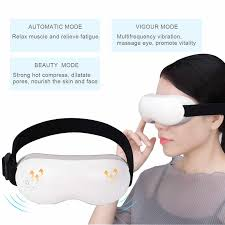 Adjustable Electric <b>Vibration</b> Eye Massager <b>Magnetic</b> Air Pressure ...