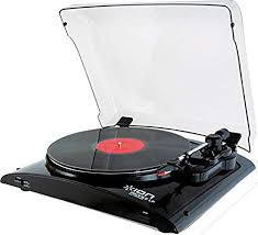 ION Profile LP Vinyl-to-MP3 Turntable: Electronics - Amazon.com