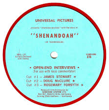 shenandoah interview jimmy stewart on the air the following cue sheet the questions and cues for stewart s answers was included the record