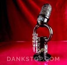 Old Skool Microphone Dab Rig | <b>Water pipes</b>, Glass <b>bongs</b>, Glass ...