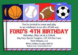 doc sports themed birthday invitations sports birthday printable sport themed birthday invitation card for boys sports themed birthday invitations