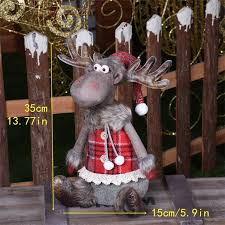 Figures Santa Claus <b>Doll Christmas</b> Decorations <b>For</b> Home <b>Merry</b> ...