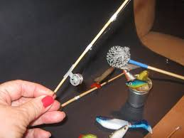 How to make <b>miniature fishing poles and</b> items in 1:10 scale   BABY ...