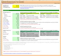 personal income tax calculator in excel personal income tax calculator
