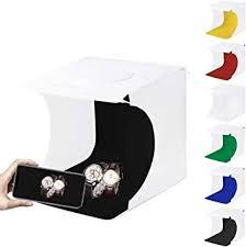Portable Mini Folding Lightbox Photography Photo ... - Amazon.com