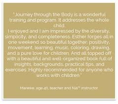 teacher training journey through the body note you can always contact us if you would like to organize a training in your country or area we are happy to explore possible options