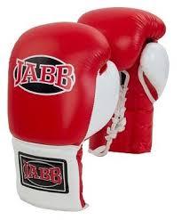 Купить Боксерские <b>перчатки Jabb JE</b>-<b>2000</b> красный/белый <b>10 oz</b> ...