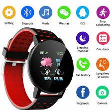 <b>119-Plus</b>- Bluetooth Smart Watch GPS Waterproof SIM Screen ...