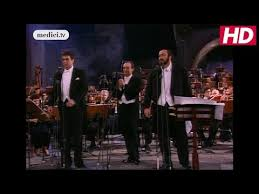 "The Three Tenors (<b>Carreras</b>, <b>Domingo</b>, <b>Pavarotti</b>) - ""Nessun dorma ..."