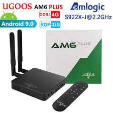 <b>UGOOS AM6 Plus</b> Amlogic Smart Android 9.0 TV Box DDR4 4GB ...
